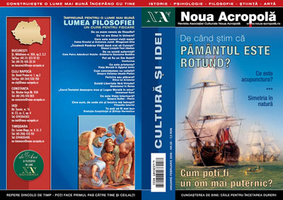 Noua Acropolă. Magazine published by New Acropolis Romania.