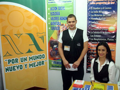 Fifth Volunteerism Fair in Guatemala. Organized by the United Nations Development Programme. Participation by New Acropolis.