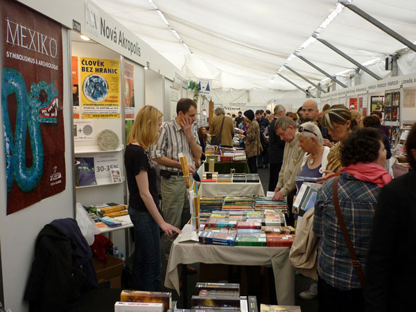NA took part in the International Book Fair in Prague, Czech Republic